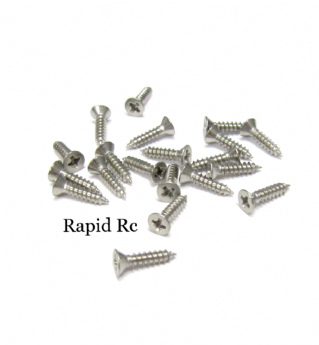 2.2mm x 9.5mm Stainless steel Counter Sunk  Phillips Head Self Tapping screw
